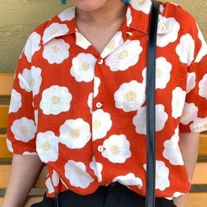 Super cute never worn sunny side up flower shirt